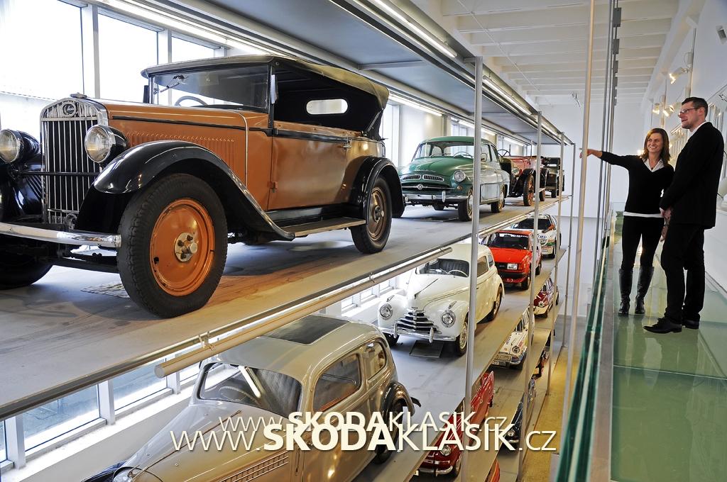 SKODA-Muzeum-interior