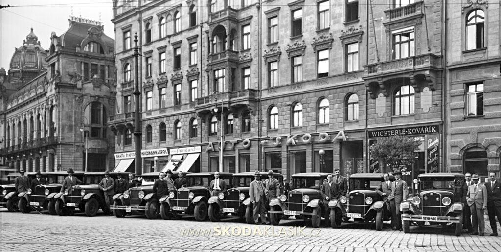 ŠKODA Auto - První republika